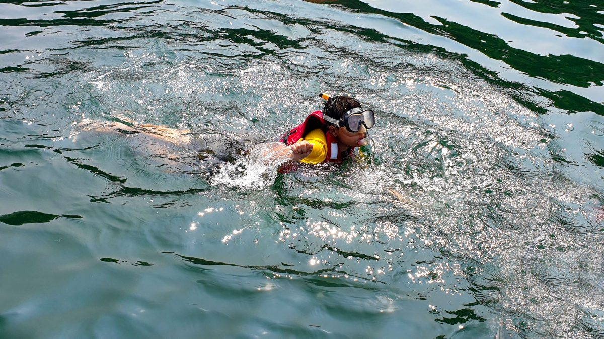 Boy Snorkeling-Activity