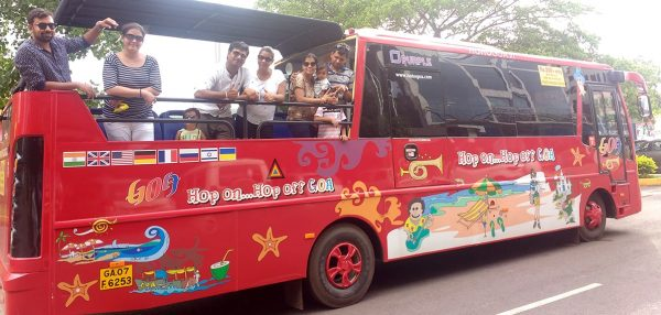 HOHO Goa Bus Tour