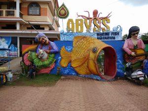 Abyss Marine Fish Aquarium Entrance